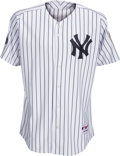 Baseball Collectibles:Uniforms, 2008 Derek Jeter Signed New York Yankees Jersey to Bobby Murcer's Widow with Inspiring Inscription from The Bobby Murcer Colle...