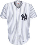 Baseball Collectibles:Uniforms, 2001 Derek Jeter Signed New York Yankees Jersey from The Bobby Murcer Collection. ...