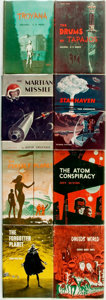 Books:Science Fiction & Fantasy, [Genre Literature]. Group of Ten Science Fiction Titles. AvalonBooks, [various dates circa 1960].... (Total: 8 Items)