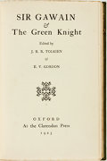 Books:Science Fiction & Fantasy, J. R. R. Tolkien. Sir Gawain and the Green Knight. Oxford:Clarendon, 1925....