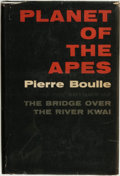 Books:Science Fiction & Fantasy, Pierre Boulle. Planet of the Apes. New York: Vanguard, 1963....