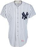 Baseball Collectibles:Uniforms, 1983 Bobby Murcer Game Worn New York Yankees Jersey Photo Matched to Bobby Murcer Day from The Bobby Murcer Collection. ...