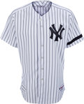 Baseball Collectibles:Uniforms, 2007 Bobby Murcer Game Worn New York Yankees Old-Timers' Day Uniform from The Bobby Murcer Collection. ...