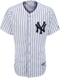 Baseball Collectibles:Uniforms, 2014 Bobby Murcer New York Yankees Old-Timers' Day Jersey from The Bobby Murcer Collection. ...