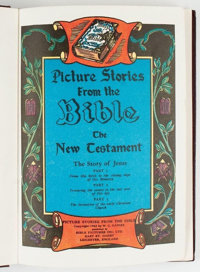 Picture Stories From the Bible The New Testament (Bible Pictures Inc. Ltd., 1943) Condition: FN