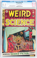 Golden Age (1938-1955):Science Fiction, Weird Science #8 (EC, 1951) CGC VF+ 8.5 Off-white to white pages....