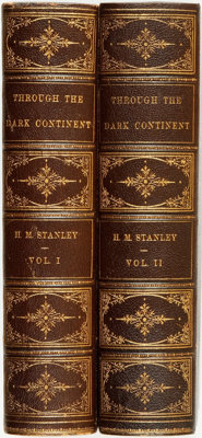 Henry M. Stanley. Through the Dark Continent, or The Sources of the Nile around the Great Lakes of Equatorial A