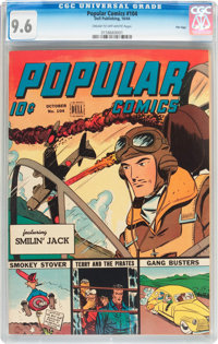 Popular Comics #104 File Copy (Dell, 1944) CGC NM+ 9.6 Cream to off-white pages