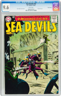 Silver Age (1956-1969):Adventure, Sea Devils #10 Pacific Coast pedigree (DC, 1963) CGC NM+ 9.6 White pages....