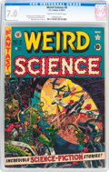 Golden Age (1938-1955):Science Fiction, Weird Science #9 (EC, 1951) CGC FN/VF 7.0 Cream to off-whitepages....