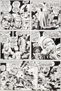 Original Comic Art:Panel Pages, Jack Kirby and Mike Royer 2001: A Space Odyssey #9 Page 11Original Art (Marvel, 1977)....