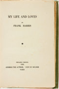Books:Biography & Memoir, Frank Harris. My Life and Loves. Paris: Privately Printed,1922....
