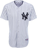 Baseball Collectibles:Uniforms, 2013 Bobby Murcer New York Yankees Old-Timers' Day Jersey from The Bobby Murcer Collection. ...