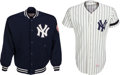 Baseball Collectibles:Uniforms, 1979 Bobby Brown Game Worn New York Yankees Jersey & Jacket. ...