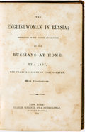 Books:Biography & Memoir, [Judith Cohen Montefiore]. The Englishwoman in Russia;Impressions of the Society and Manners of the Russians at Home....