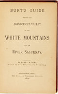 Books:Travels & Voyages, [Travel]. Henry M. Burt. Palmer Cox, illustrator. Burt's Guide Through the Connecticut Valley to the White Mountains and...