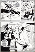 Original Comic Art:Panel Pages, Gene Colan and Tom Palmer Daredevil #90 Story Page 21 BlackWidow Original Art (Marvel, 1972)....