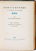 Books:Americana & American History, Ralph Barton. SIGNED/LIMITED. God's Country. A ShortHistory. New York: Alfred A, Knopf, 1929....