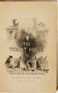 Books:Literature Pre-1900, A. J. H. Duganne. The Tenant-House; or, Embers from Poverty'sHearthstone. New York: Robert M. De Witt, [1857].. ...