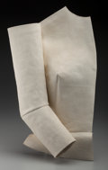 Sculpture, American School (20th Century). Untitled. Molded canvas with plaster. 19 x 12 x 4 inches (48.3 x 30.5 x 10.2 cm). ...