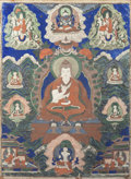 Asian:Other, A Thangka Panel. 35 inches high x 25 inches wide (88.9 x 63.5 cm)....