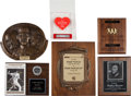 Baseball Collectibles:Others, 1970-2000 Bobby Murcer Personal Awards Lot of Six from The Bobby Murcer Collection. ...