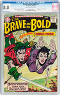 Silver Age (1956-1969):Adventure, The Brave and the Bold #14 (DC, 1957) CGC VF 8.0 Off-white to white pages....