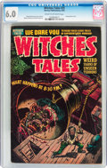 Golden Age (1938-1955):Horror, Witches Tales #25 (Harvey, 1954) CGC FN 6.0 Cream to off-whitepages....