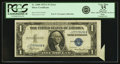Error Notes:Attached Tabs, Fr. 1608 $1 1935A Silver Certificate. PCGS Very Fine 35 Apparent.....