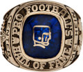 Football Collectibles:Others, 1963 Pro Football Hall of Fame Induction Ring Presented to Mel Hein....
