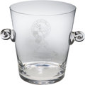 Baseball Collectibles:Others, 2000 Whitey Ford Day Tiffany Champagne Bucket from The Bobby MurcerCollection. ...