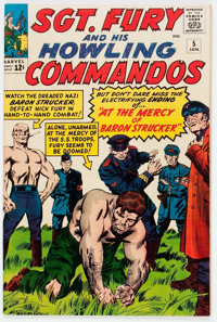 Sgt. Fury and His Howling Commandos #5 (Marvel, 1964) Condition: VF/NM