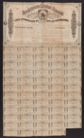 Confederate Notes:Group Lots, Ball 304 Cr. 143 $500 Bond 1864 Fine.. ...