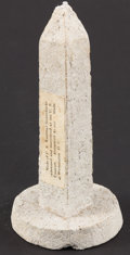 Miscellaneous:Other, Washington Monument Macerated Currency Post-1908.. ...