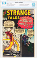 Silver Age (1956-1969):Superhero, Strange Tales #110 (Marvel, 1963) CBCS FN+ 6.5 Off-white to white pages....