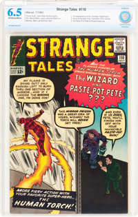 Strange Tales #110 (Marvel, 1963) CBCS FN+ 6.5 Off-white to white pages