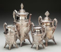 Silver & Vertu:Hollowware, A Four Piece Middletown Plate Company Silver-Plated Coffee Service, Middletown, Connecticut, circa 1890. Marks: MIDDLETO... (Total: 4 Items)