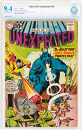 Silver Age (1956-1969):Science Fiction, Tales of the Unexpected #67 (DC, 1961) CBCS NM 9.4 Off-white towhite pages....