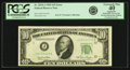 Error Notes:Obstruction Errors, Fr. 2010-J $10 1950 Federal Reserve Note. PCGS Extremely Fine 40Apparent.. ...