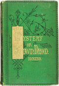 Books:Literature Pre-1900, Charles Dickens. The Mystery of Edwin Drood. London: Chapman& Hall, 1870....