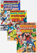 Modern Age (1980-Present):Superhero, Marvel Team-Up Group of 92 (Marvel, 1976-85) Condition: AverageNM-.... (Total: 92 Comic Books)