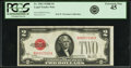 Small Size:Legal Tender Notes, Fr. 1503 $2 1928B Legal Tender Note. PCGS Extremely Fine 45.. ...