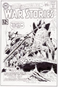 Original Comic Art:Covers, Mike Esposito Star Spangled War Stories #105 CoverRecreation Original Art (undated)....