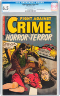 Golden Age (1938-1955):Horror, Fight Against Crime #20 (Story Comics, 1954) CGC FN+ 6.5 Cream to off-white pages....