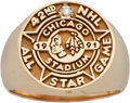 Hockey Collectibles:Others, 1991 Dave Christian NHL All Star Game Ring....