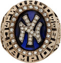Baseball Collectibles:Others, 1998 New York Yankees World Series Championship Ring....