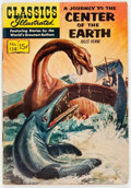 Silver Age (1956-1969):Classics Illustrated, Classics Illustrated #138 A Journey to the Center of the Earth -First Printing (Gilberton, 1957) Condition: VG-....