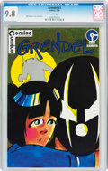 Modern Age (1980-Present):Superhero, Grendel #3 (Comico, 1984) CGC NM/MT 9.8 White pages....