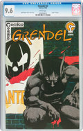 Modern Age (1980-Present):Superhero, Grendel #2 (Comico, 1983) CGC NM+ 9.6 White pages....