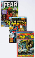 Bronze Age (1970-1979):Horror, Fear #1-31 Near-Complete Series Group (Marvel, 1970-75) Condition:Average VF/NM.... (Total: 26 Comic Books)